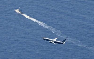 美日兩國全力打撈F-35A  神盾艦、反潛機都出動!