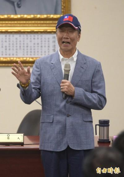 郭台銘要拚初選 國民黨中央認定黨員卻說不清黨權