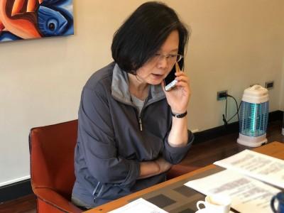 花蓮6.1強震 蔡英文:留意政府即時資訊避免誤傳假訊息