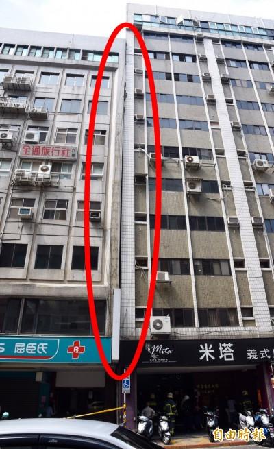 警報解除!北市長安東路大樓傾斜  鑑定後確認安全無虞