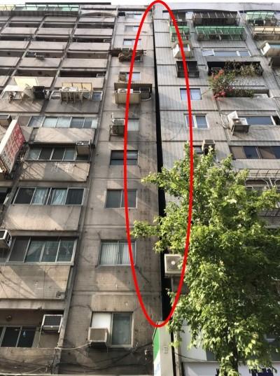 6.1強震襲台  北市又有一棟大樓傾斜緊急疏散住戶