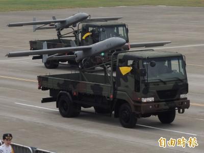 獨家》軍方自曝發展「尖兵」型無人機 艦載彈射可精準回收