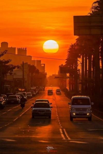 美麗懸日景象再現!氣象局告訴你哪裡看得到