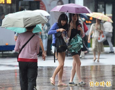 3縣市發布大雨特報! 各地天氣不穩降雨至入夜