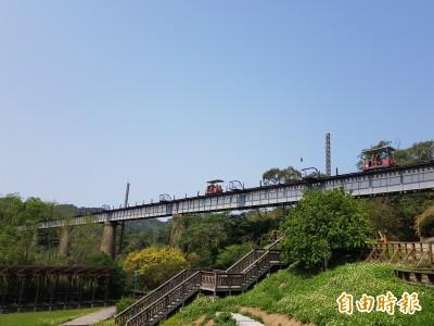 三義舊山線Rail Bike7月正式營運 「接地氣」慢遊苗栗