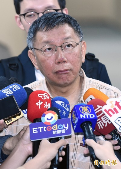 怨國家只剩黨內初選 柯文哲大嘆「可悲」:耽誤政務推行