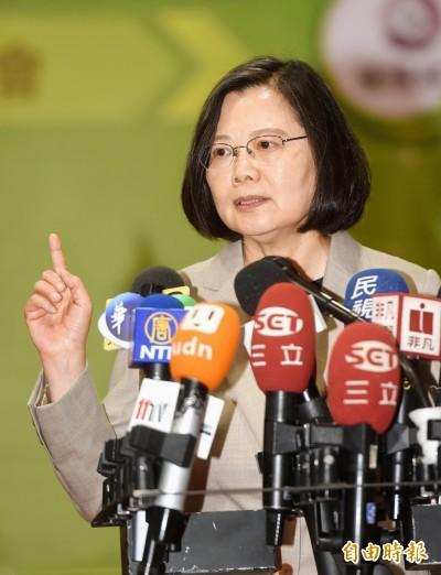 新黨邀李毅「跨海視訊」演講   小英霸氣回嗆