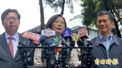 韓國瑜稱台灣沒軍法惹怒總統! 蔡英文:把話收回去