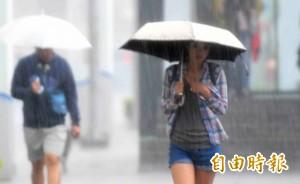 入夜雨彈來襲!中北部9縣市嚴防大雨