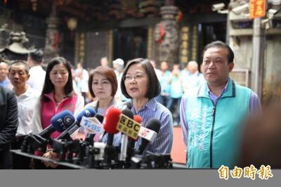 回應郭董 蔡總統:鑰匙有2種功能 決定權在我們自己手上