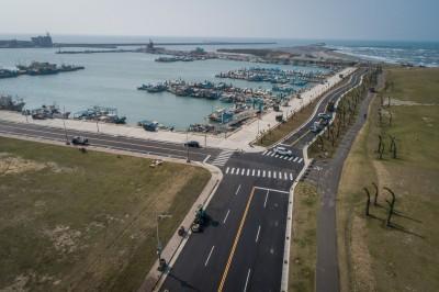 全國首輛自駕車場域測試 有望開進新竹南寮漁港
