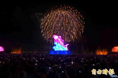 這個二月把歷年「打趴在地」 台灣燈會人潮再創罕見紀錄