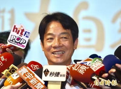賴清德:總統大選 盼與韓國瑜君子之爭