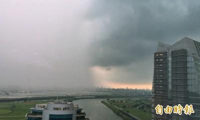 下班注意!熱對流旺盛 中部以北嚴防較大雨勢