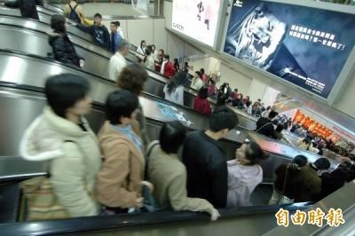 別吵了!電扶梯「右站左行」對不對?捷運公司給答案...