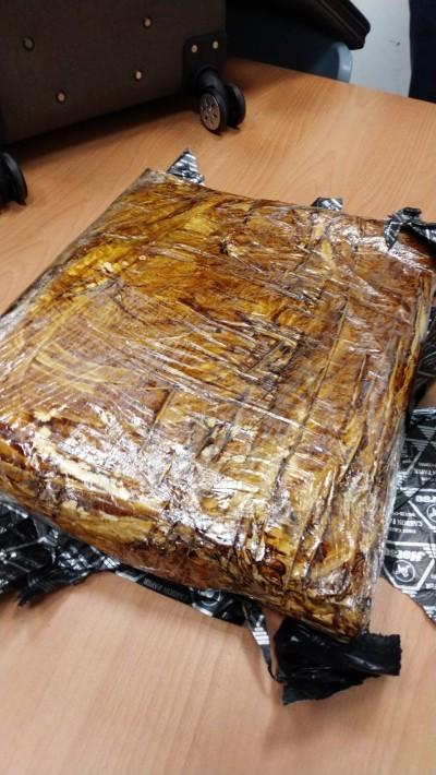 檀香紙包裝6.5公斤K毒機場闖關 台女自泰返國被逮