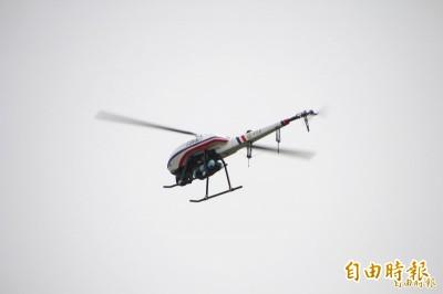 強化南海防務  海巡署下半年佈署4架旋翼無人機