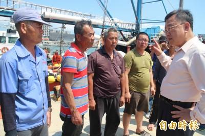 中國漁船越界攜帶三層網 澎湖縣長當面訓誡