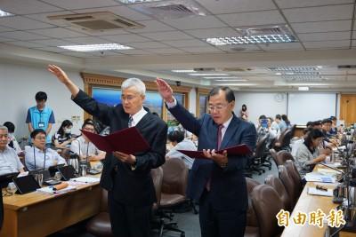 桃園副市長李憲明、秘書長黃治峯 宣誓就職