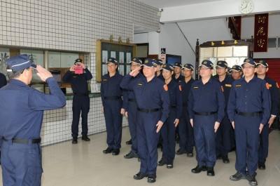 全台中高階警官142人調動 縣市60位分局長5/1交接
