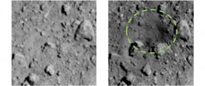 日本隼鳥2號彈射「龍宮」 砸出全球首例人造隕石坑
