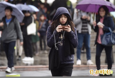 鋒面報到!週五全台有陣雨 北台灣降溫5~7度