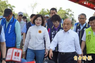 韓國瑜不列席行政院會 蘇貞昌這次說法不一樣