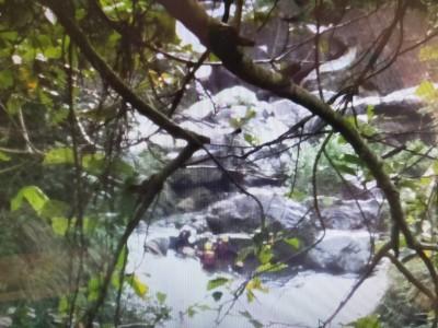 太平仙女瀑布傳意外 一男子溺斃