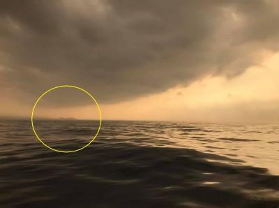 「海市蜃樓」出現基隆外海?民眾驚呼10多年第一次看到