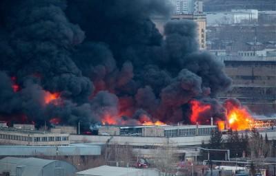 俄羅斯洲際導彈工廠大火 屋頂倒塌延燒2.4萬平方公尺