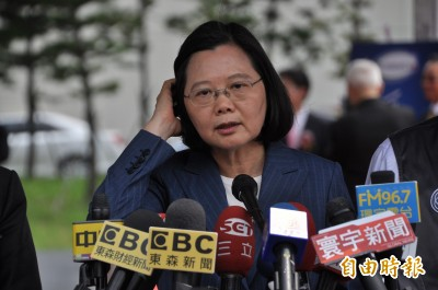 郭台銘說中國人不打中國人 蔡英文:適合講給中國聽