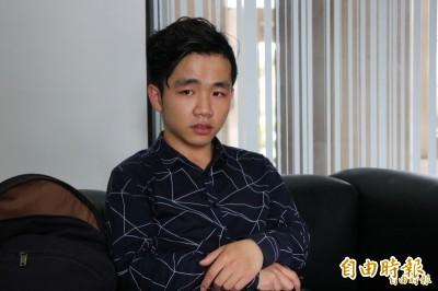 中生李家寶批習專制盼留台 今遞交長期居留申請