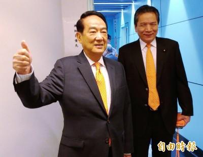 中國官媒專訪 宋楚瑜:認同兩岸同屬一中 反對台獨