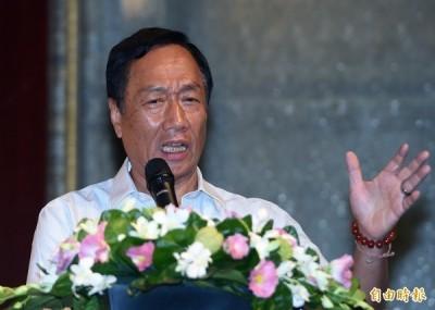 嗆郭董的「國防靠和平」 謝志偉:你有狼牙棒,我有天靈蓋?