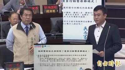 議員促南關線高鐵專區建醫院 黃偉哲提奇美和市醫模式