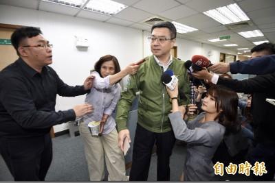 民進黨中常會火爆 常委批羅文嘉「黨部改成秘書長制了嗎?」
