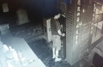 用鐵絲釣香油錢沒成功 男因竊盜罪被辦
