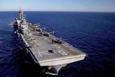 震嚇中國!美利堅閃電航母加入第七艦隊 航向亞太