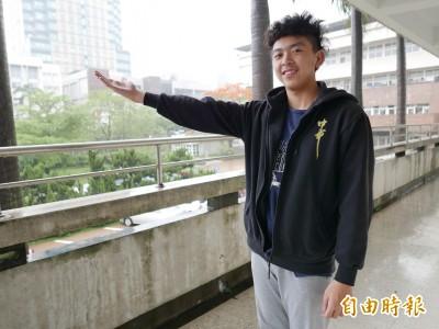 小二颱風停課開啟大氣科學興趣 「追風小子」考上台大地理