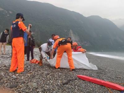 花蓮崇德海灘玩耍遭大浪捲走 尋獲國中生遺體
