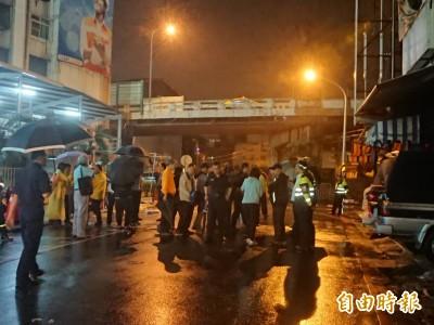 南鐵地下化工程今執行強制拆除 深夜完成封鎖管制