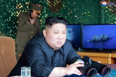 偷射火箭!北韓官媒:金正恩昨確實參與「火力攻擊演習」