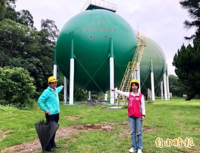 獨家》竹市瓦斯年漏逾270萬度 議員要求改善及遷移儲氣槽