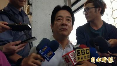 臉書再嗆郭台銘   賴清德:台灣不需要聽從中國的特首!