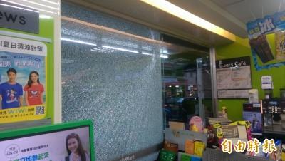 遭槍擊?台東超商玻璃突爆裂 警說兇手是…