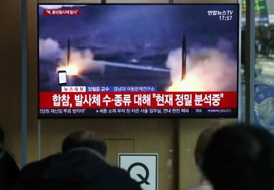 北韓又射不明飛行物 南韓:疑是2枚短程飛彈
