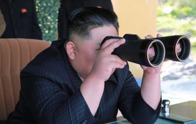 南韓軍方:北韓昨天發射物是短程飛彈 由金正恩下令