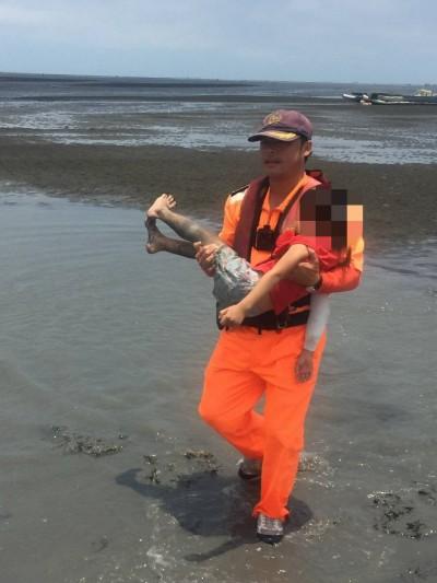 跟祖父母出海口拾牡蠣卻失蹤 5歲女童幸獲救