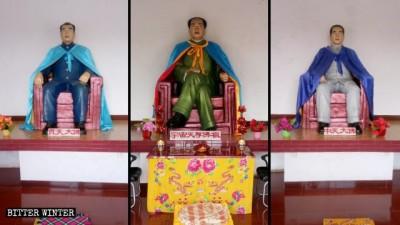中國瘋狂滅佛卻把毛澤東當佛祖!詭異廟宇香火鼎盛