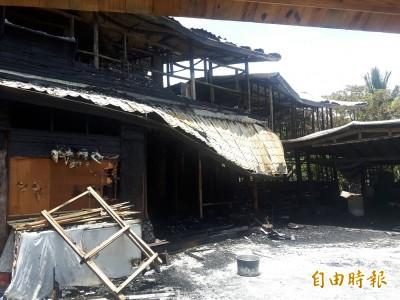 暗夜大火 獵人學校成廢墟